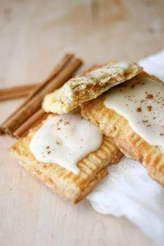 Pumpkin Pie Pop Tarts with Maple Glaze
