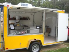 Brand New 7x12 Shaved Ice Concession Trailer with A/C | eBay