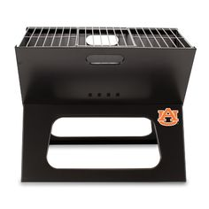 Auburn Tigers Portable Charcoal X-Grill - Convenient for Tailgating