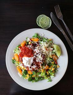 Taco med bønnestuing - LINDASTUHAUG