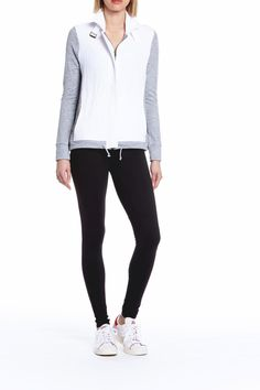 The Garbe Luxe Westport jacket is the perfect athleisure option to throw over any workout outfit.   Luxe Workout Jacket by Garbe Luxe. Clothing - Jackets, Coats & Blazers - Jackets Los Angeles, California