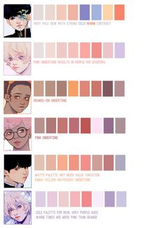 Manga Drawing Tutorials, Drawing Tutorials For Beginners, Art Tutorials, Skin Color Palette, Palette Art, Shadow Drawing, Skin Drawing, Digital Art Anime, Digital Art Girl