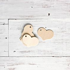 Wooden Heart Tags | Little Ink | Packaging Supplies | Baking Supplies | Craft Supplies | Party Supplies #tags #gifts @Ricardo Naranjo