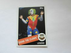 2015 TOPPS WWE BASE LEGEND DOINK THE CLOWN # 13
