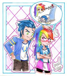 Molestando a Dash by janadashie on DeviantArt