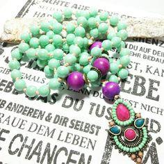 Charm- & Bettelketten - ☯ Bettelkette ♡ kunterbunt - ein Designerstück von LiliHs bei DaWanda