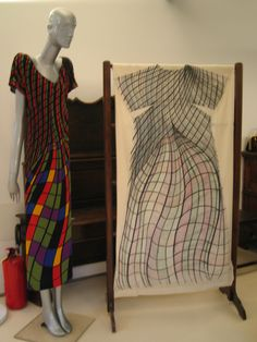 Roberta di Camerino's original Trompe-l'oeil Dress
