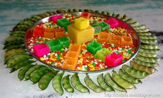 ugadi stage decoration - Google Search