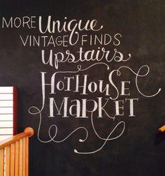 Hand Drawn Chalk Typography Wall | Melissa Horrocks