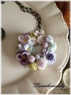 Decorando y artículos de decoración de flores del ganchillo (21) (480x640, 133Kb)