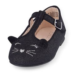 a813dc02cb3dd Toddler Girls Cat June Flat Baby Girl Shoes, Toddler Girl Shoes, Toddler  Girl Outfits