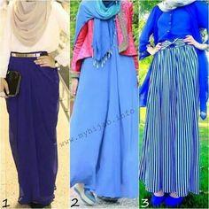 Hijjab with Blues <3