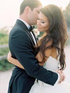 Elegant Santa Barbara Gold-Infused Wedding - Style Me Pretty