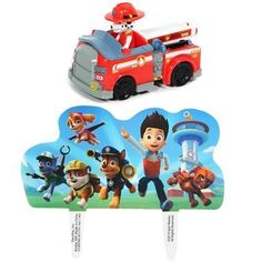 Your PAW Patrol fan will love to have a cake decorated with this PAW Patrol Cake…