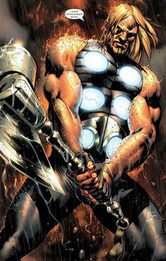 Ultimate Marvel Version of Thor Odin Marvel, Marvel Heroes, Marvel Characters, Marvel Avengers, Marvel Wolverine, Marvel Universe, Comic Books Art, Comic Art, Book Art