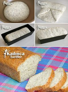 How To Make Chia Seed Bread Recipe? Chia Seed Smoothie, Crusted Tilapia, Blueberry Oat, Seed Bread, Fiber Diet, Wie Macht Man, Food Garnishes, Food Places, Chia Pudding