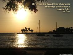 Sunset with Bible   Free Christian Wallpaper - Sunset Boats on Water
