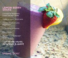 Lemon Berry Shake