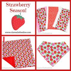It's strawberry season!! Check out these berry gifts — perfect for that June baby girl! 🍓🍓🍓 . . . #strawberry #strawberries #strawberryseason #junebaby #babygirlgift #strawberrybaby #claresclothesline Strawberry Baby, Clothes Line, Baby Girl Gifts, Strawberries, June, Seasons, Check, Cards, Instagram
