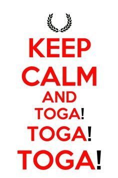 toga party 50th birthday