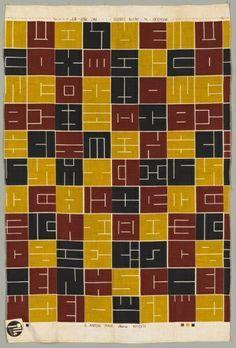 Intaglio print textile Alan Lustig