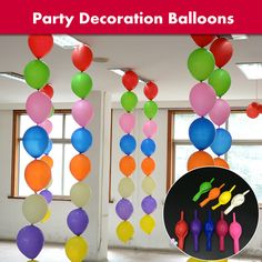 "Best Quality100pcs/lot 12"" 3g/pcs Latex Tail Balloons Wedding Party Birthday Decoration Helium BK Needle Tail Balloon Globos"