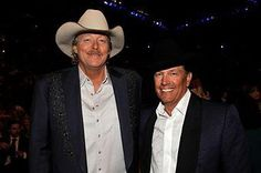 The 2 finest in country music, Mr. Alan Jackson & King George Strait.