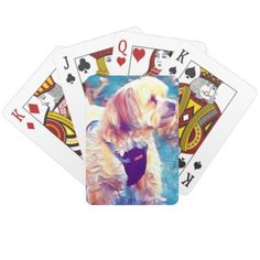 Copper the Havapookie playing cards - home gifts cool custom diy cyo