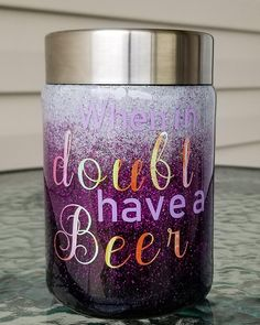 Cooler-Can Tumbler, Glittered Can Tumbler, Glittered Tumbler, Persononalized Tumbler, Can Coosie Short Friendship Quotes, Glitter Wine, Glitter Cups, Glitter Bomb, Glitter Force, Diy Tumblers, Custom Tumblers, Cup Design, Glass Design