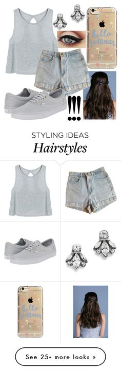 """""""And can you teach me how to dance real slow?"""" by gabriela-27-99-11 on Polyvore featuring Ben-Amun, American Apparel, Agent 18, Vans and mark."""