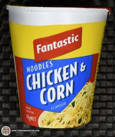 The Ramen Rater reviews a cup noodle variety sent by a reader from Australia named Jen - one with a chicken and corn flavor