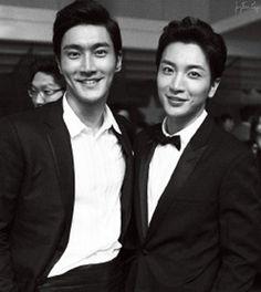 SUPER JUNIOR | Park Jungsoo/Leeteuk with Choi Siwon