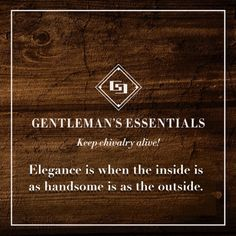 Elegance Gentleman's Essentials