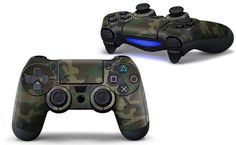 Love this!  http://www.hellodefiance.com/products/army-camo-skin-ps4-controller-protector?utm_campaign=social_autopilot&utm_source=pin&utm_medium=pin