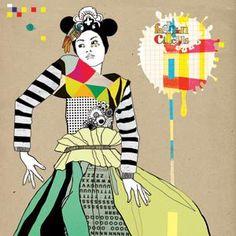 http://lespapierscolles.wordpress.com/2013/04/09/sophie-leblanc/  Sophie Leblanc #illustration #graphisme #art #couleur