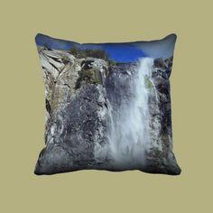 The Veil Throw Pillows