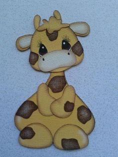 Scrapbook Paper Piecing Tiny Treasure Giraffe by My Tear Bears | eBay