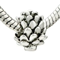 Pugster Snowy Pinecone Beads Fit Pandora Chamilia Biagi Charm & Bracelet Pugster. $9.29. Unthreaded European story bracelet design. Measures 9mm X 14mm. Hole size is approximately 4.8 to 5mm. Pugster are adding new designs all the time. Fit Pandora, Biagi, and Chamilia Charm Bead Bracelets. Save 26% Off!