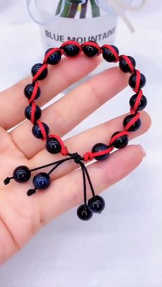 Diy Bracelets Patterns, Diy Friendship Bracelets Patterns, Diy Bracelets Easy, Braided Bracelets, Handmade Bracelets, Beaded Bracelets Tutorial, Macrame Tutorial, Cord Bracelets, Jewelry Patterns