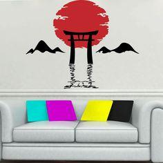 Asian Design Wall Sticker. http://walliv.com/asian-design-4-wall-sticker-art-decal