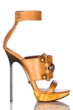 Lanvin wooden faux wood heels #UNIQUE_WOMENS_FASHION