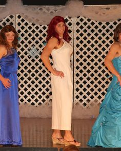 Womanless Beauty Pageant, Beauty Contest, Crossdressers, Masquerade, Pretty Boys, Most Beautiful, Halloween Costumes, Feminine, Formal Dresses