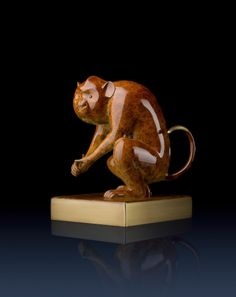 Brass Master Home decor sculpture - Metal crafts ornaments statue - Happy Monkey 3020010 Special Price: $299.00 Links: http://www.amazon.com/gp/product/B00KJJHA64