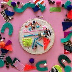 Kids Craft Box, Fun Crafts For Kids, Creative Crafts, Easy Crafts, Sewing Crafts, Sewing Projects, Craft Projects, Craft Ideas, Craft Activities