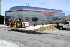 Penny's Diner, Rawlins, Wyoming.