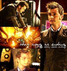 Ten's regeneration - the-tenth-doctor Fan Art