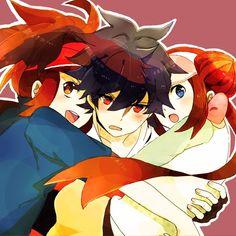 Hugh, Kyouhei, Mei Pokemon Black/White 2