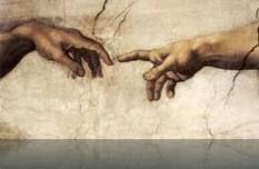 de geschiedenis van de kunst: aan de hand van beelden wordt getoond hoe onze omgeving is ontstaan en zich heeft ontwikkeld