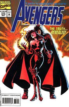 Avengers # 374 by Steve Epting & Tom Palmer