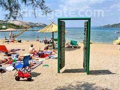 Sandy beaches - A guide to the beaches - Planjka - Trincel beach, Kvarner, North Croatian islands, Stara Novalja - island Pag, sandy beach